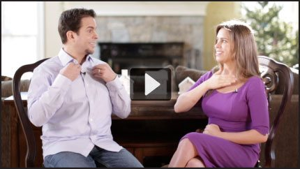 Jessica Ortner interviews her brother Nick Ortner
